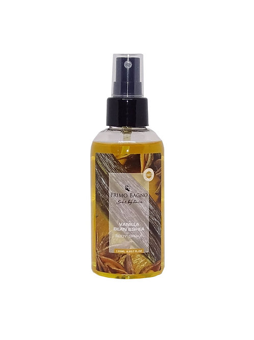 Body Mist Vanilla Bean & Shea 120ml
