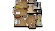 Prodej bytu 5+1 (159m2) Praha 6 s 3D virtuální prohlídkou