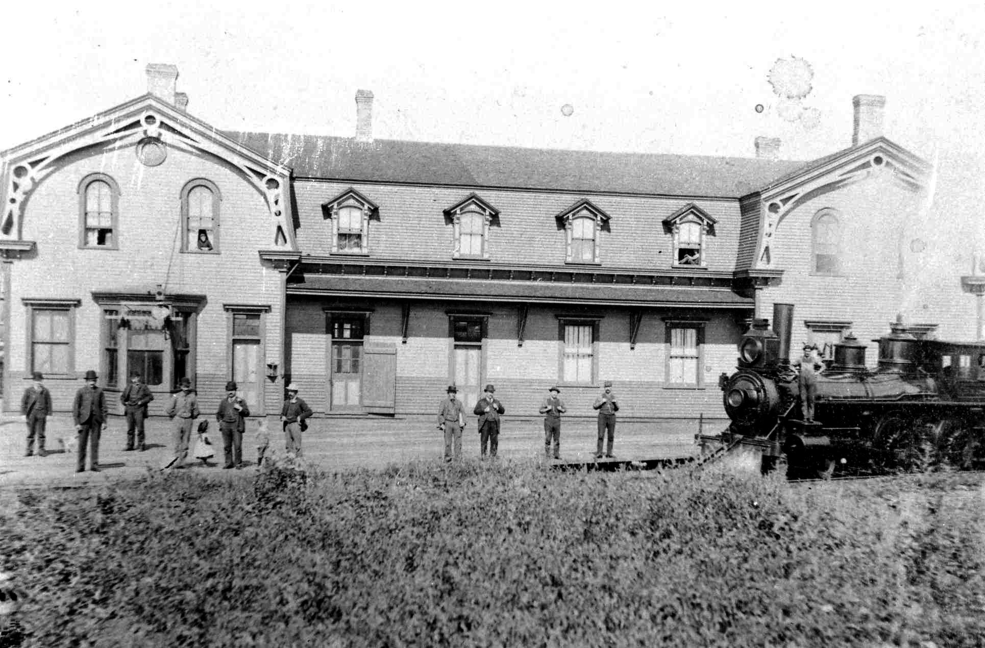 Ancienne gare de Charny
