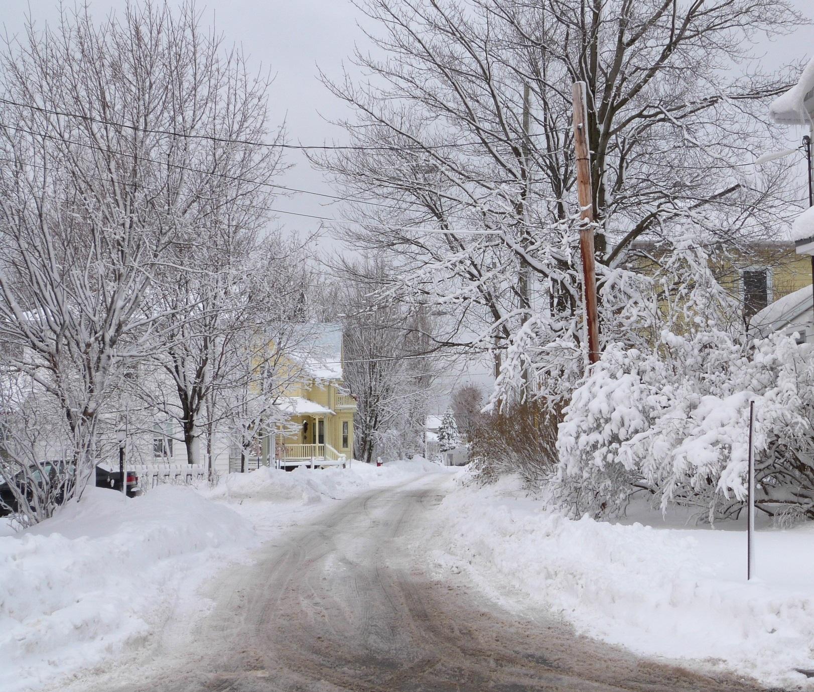 Charny en hiver