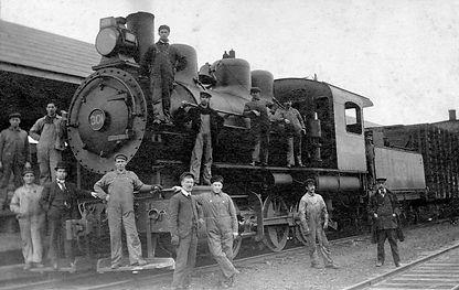 Charny-locomotive