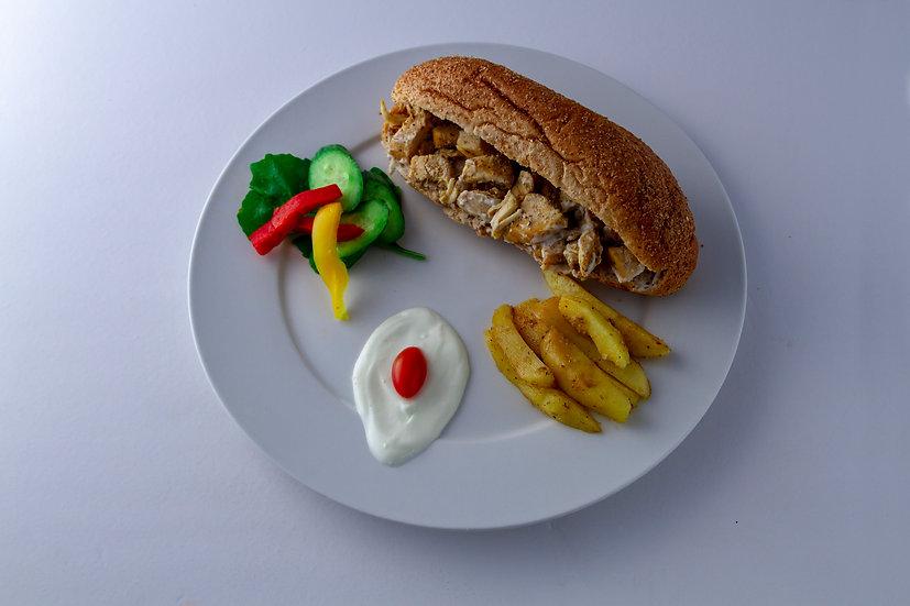 Chicken Shawarma Sandwiches