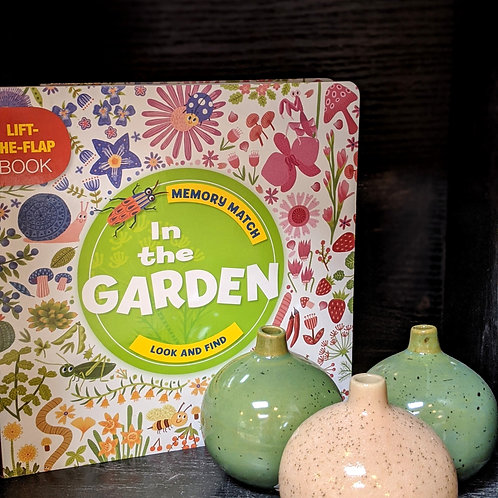 """""""Memory Match: in the Garden : A Lift-The-Flap Book"""" by Anne Paradis"""