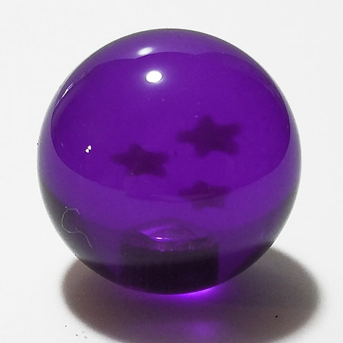 3 Star Dragon Ball Ball Top (Purple)