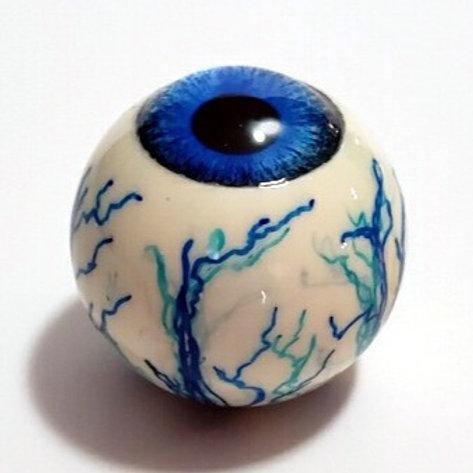 Blue Eyeball with Blue Veins