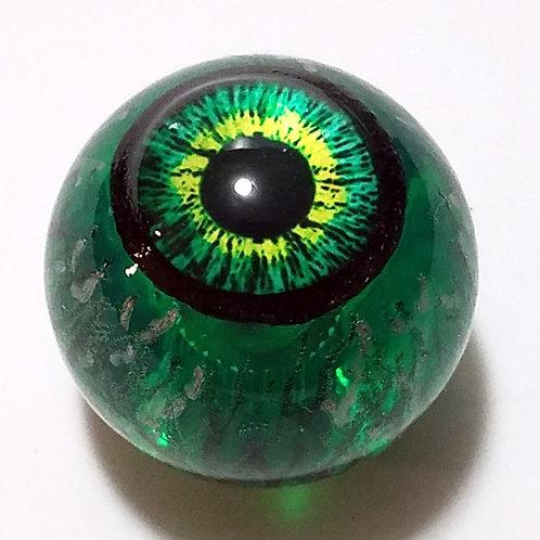 Translucent Green Eyeball Top