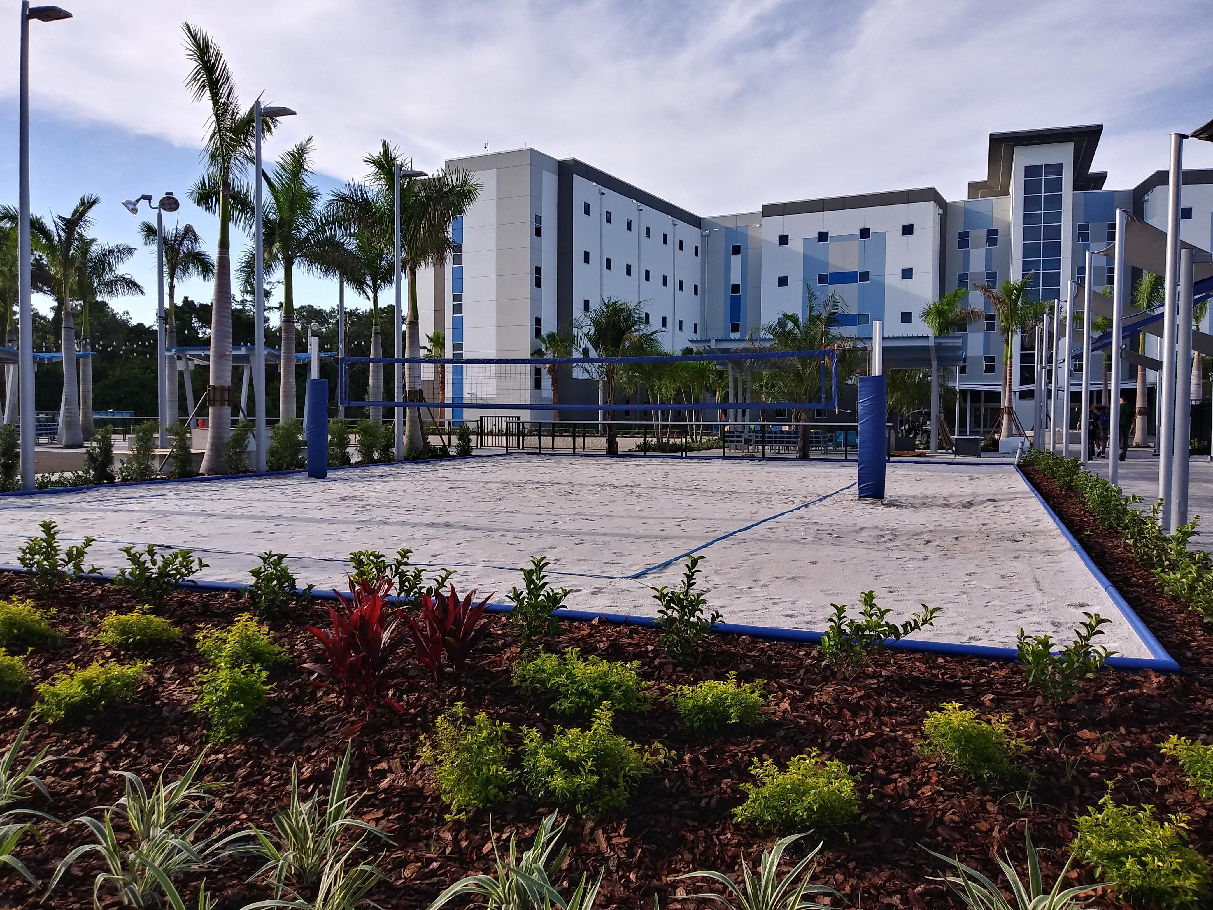 IMG Academies Court Build