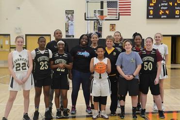 Greensboro Kaos Visits Western Guilford High School
