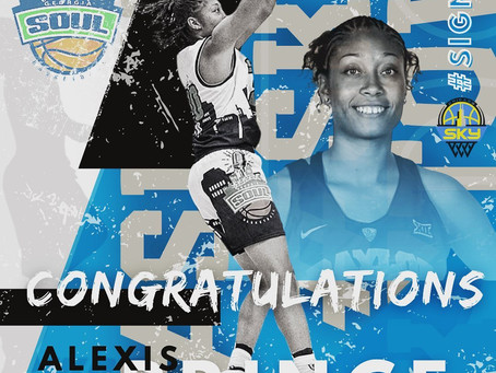 The WNBA team Chicago Sky has signed The WPBA's very own,Georgia Soul player, Alexis Prince