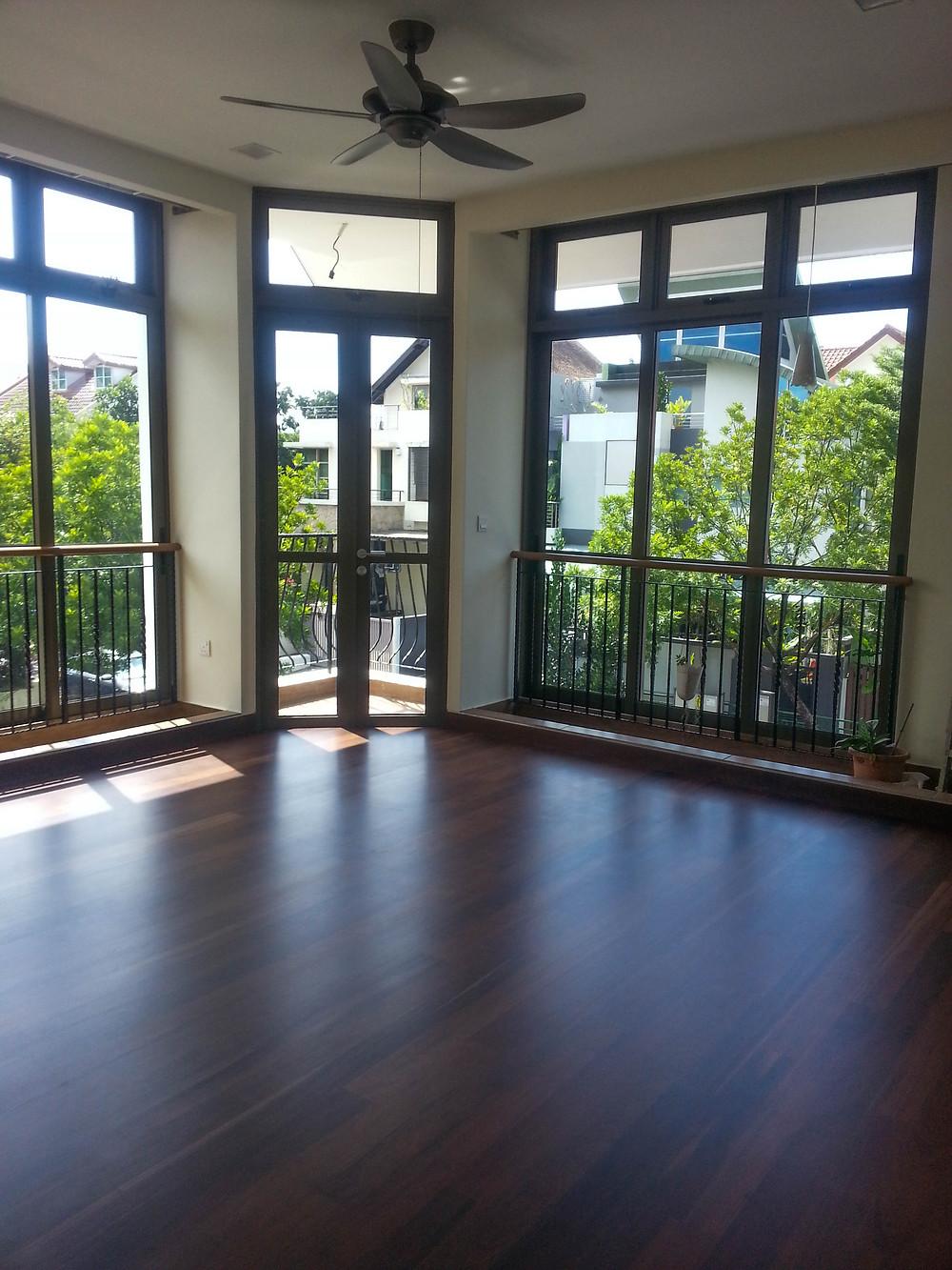 Dark Wood Floor Color