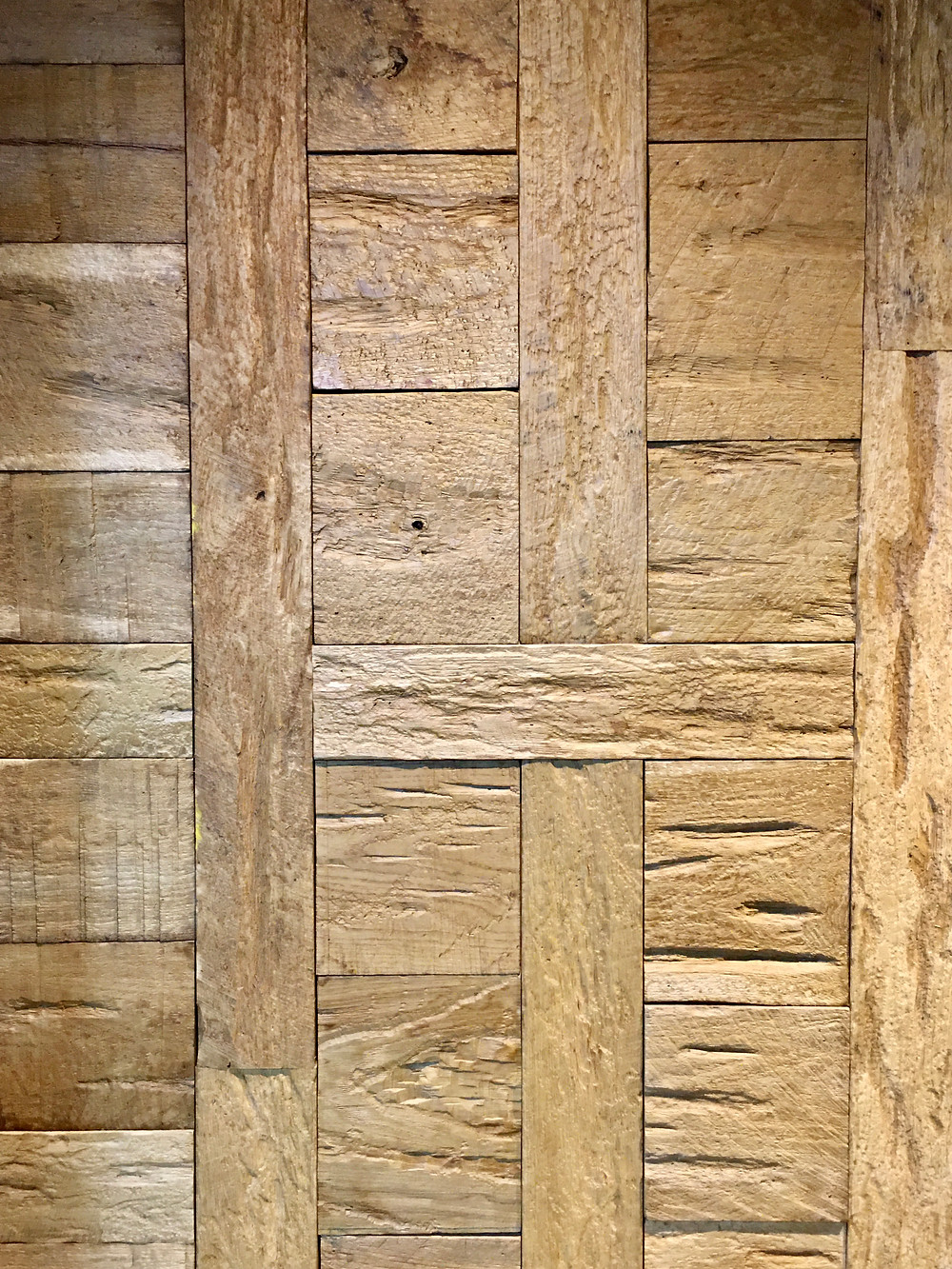 Rustic Wood Cladding Wall