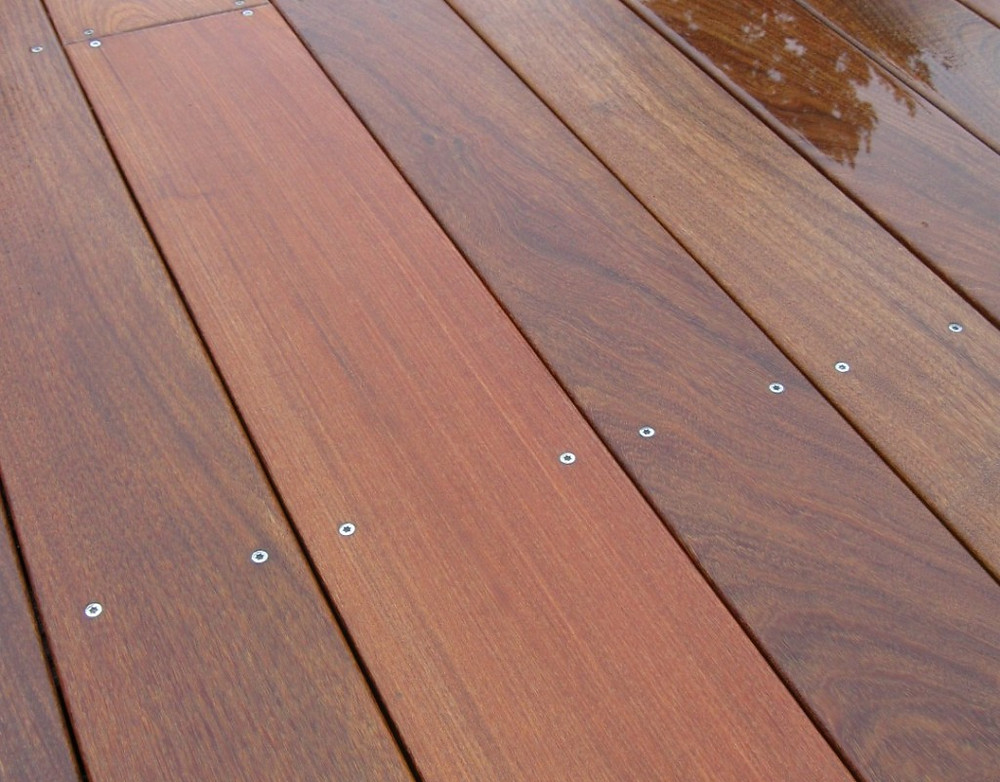 Ironwood timber for outdoor decking