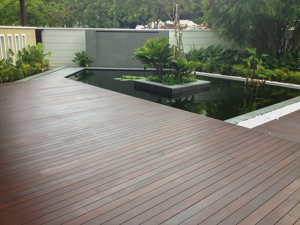 Chengal Timber for Outdoor Decking