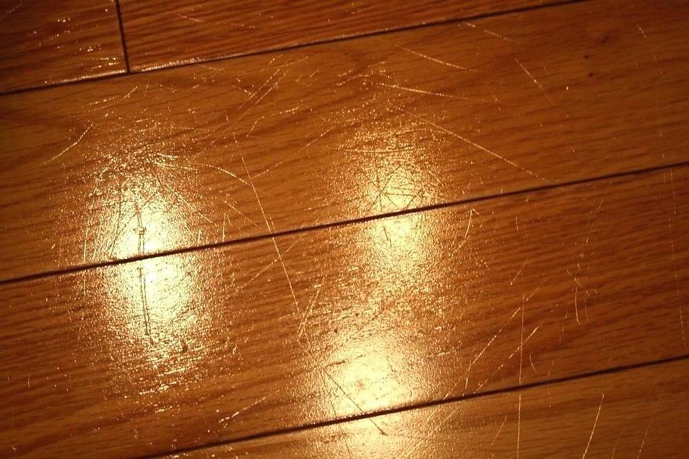 Scratches On Hardwood Flooring