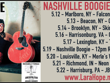Upcoming Tour & Nashville Boogie