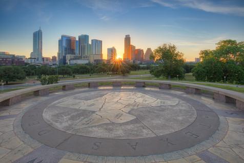 Sunrise over Austin 1