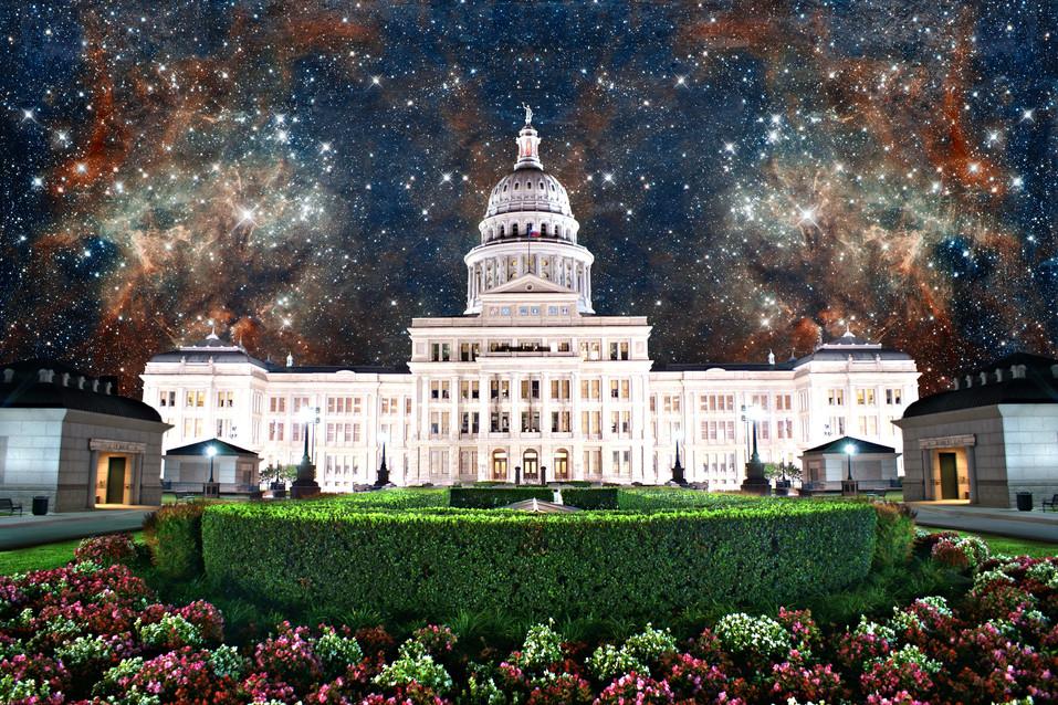 Capitol at Night 2