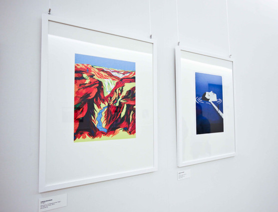 Exhibition of editorial works at The New York Times' Gallery 7