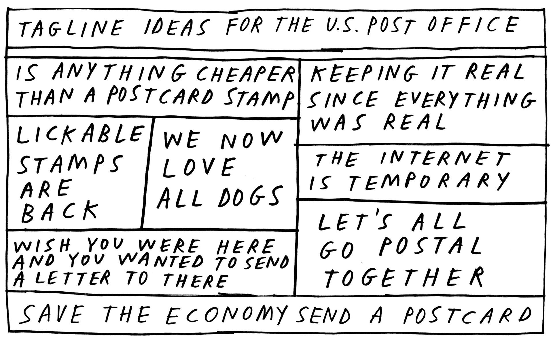 Post Office Taglines