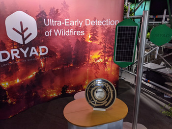 Dryad wins Best of Show Award at the Impact Festival