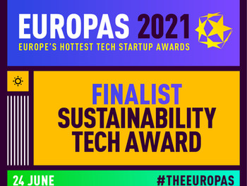 Dryad is a finalist in The Europas Tech Startup Awards for the sustainability category