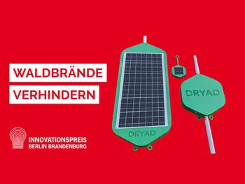 Silvanet nominated for the Innovation Award Berlin Brandenburg 2021