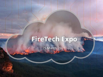 Dryad presenting at FireTech Expo