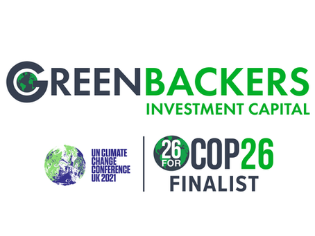 Dryad is a finalist in Greenbackers' 26 for COP 26 program