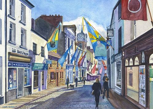 Flag Festival - Market Street, Ulverston