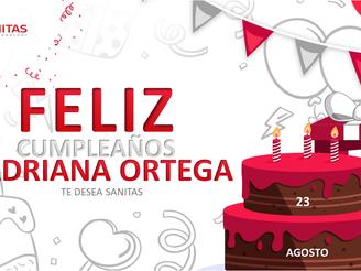 Cumpleaños Adriana Ortega