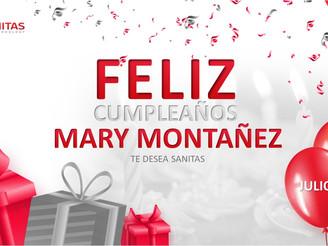 CUMPLEAÑOS MARY MONTAÑEZ