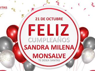 Cumpleaños Sandra Milena Monsalve