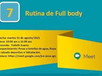 Rutina Full Body