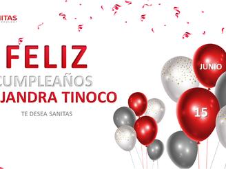 Cumpleaños Alejandra Tinoco