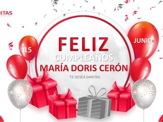 Cumpleaños María Doris Cerón