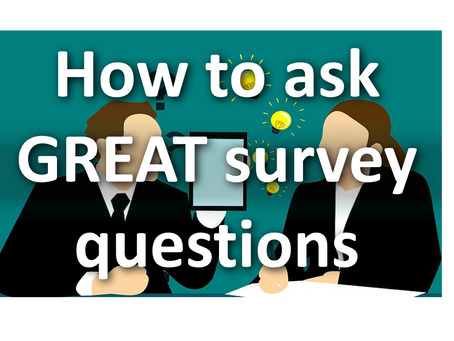 How to ask great survey questions (and get real answers)
