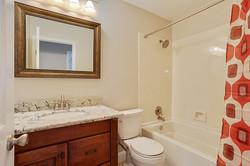 Guest bathroom after renovation