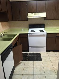 Condo 1 kitchen before renovation