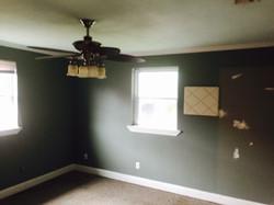 Master bedroom before renovation