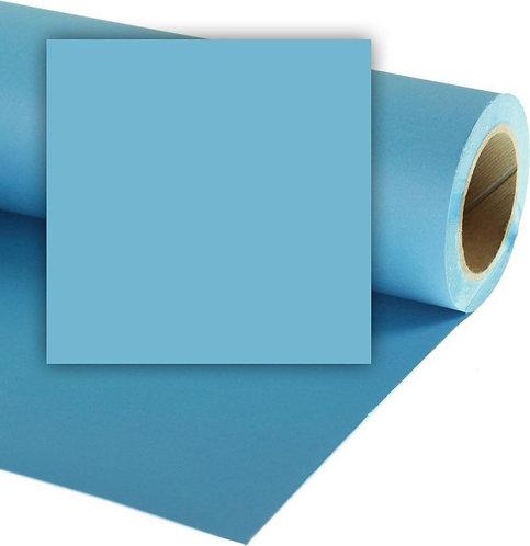 Бумажный фон Colorama 2,72 x 11 метров, цвет SKY BLUE