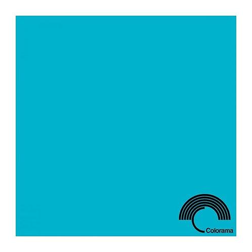 Бумажный фон Colorama 2,72 х 11 метров, цвет AQUA