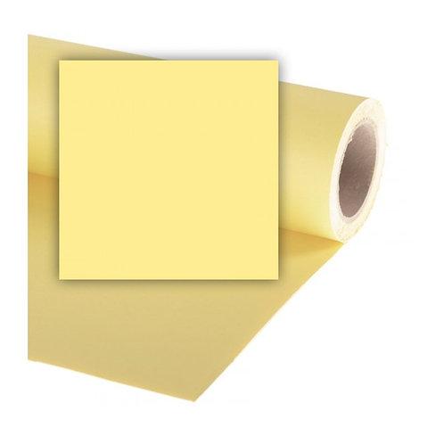Бумажный фон Colorama 2,72 x 11 метров, цвет LEMON