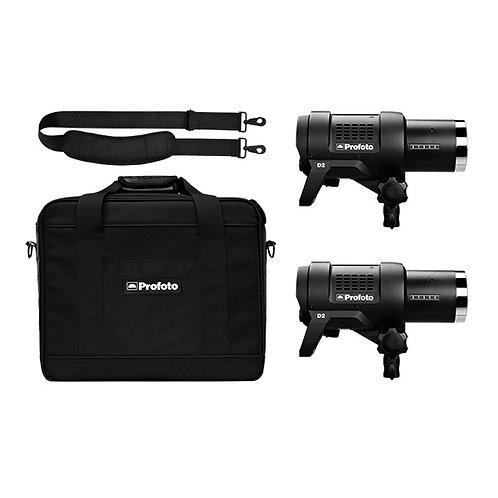 Комплект с двумя моноблоками Profoto D2 Duo Kit 500/500 AirTTL