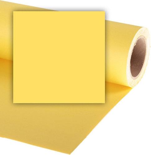 Бумажный фон Colorama 2,72 x 11 метров, цвет DANDELION