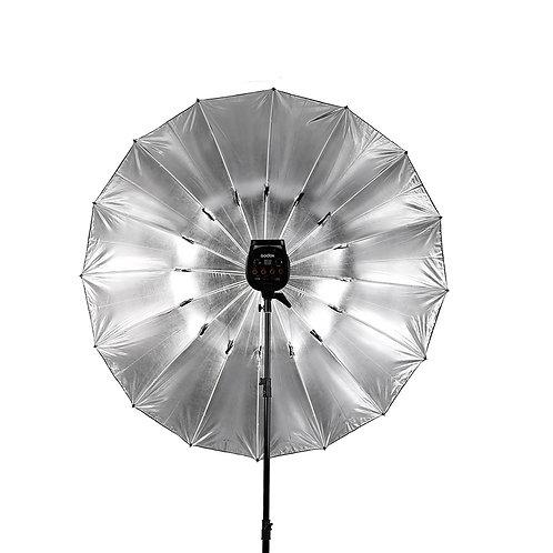 Фотозонт серебряный 150 см
