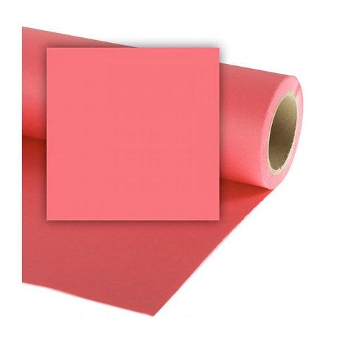 Бумажный фон Colorama 2,72 x 11 метров, цвет CORAL PINK
