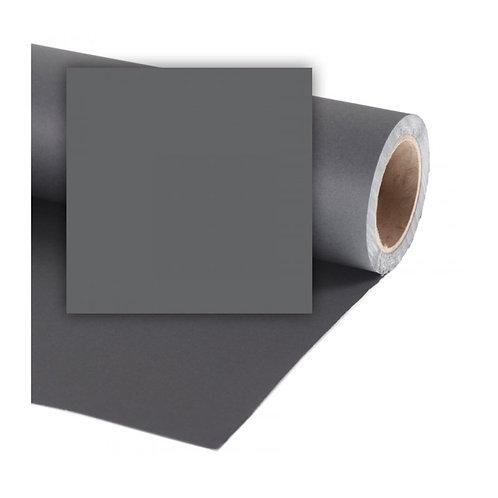 Бумажный фон Colorama 2,72 х 11 метров, цвет CHARCOAL