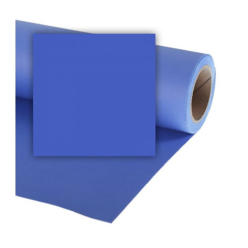 Бумажный фон Colorama 2,72 х 11 метров, цвет CHROMABLUE