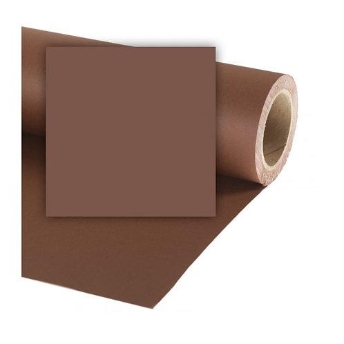 Бумажный фон Colorama 2,72 x 11 метров, цвет PEAT BROWN
