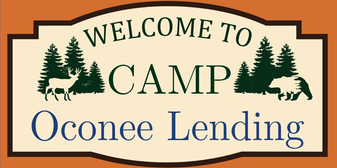 Camp Oconee Lending Sign